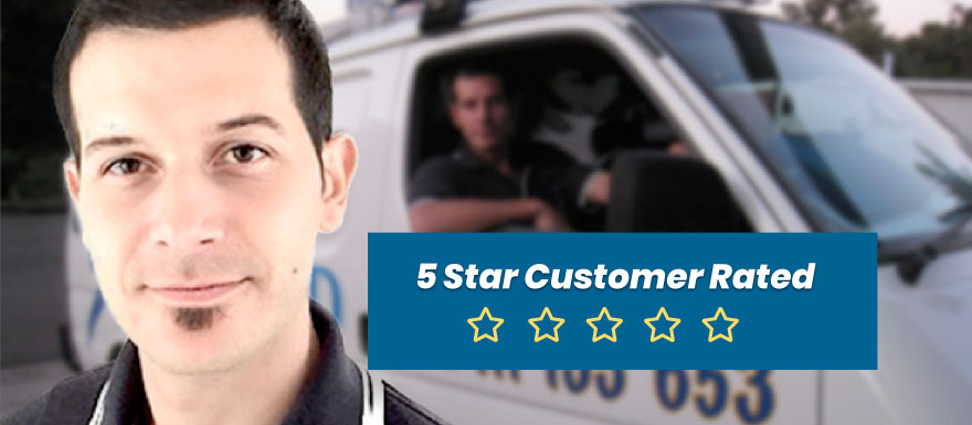 Customer 5 Star Rated